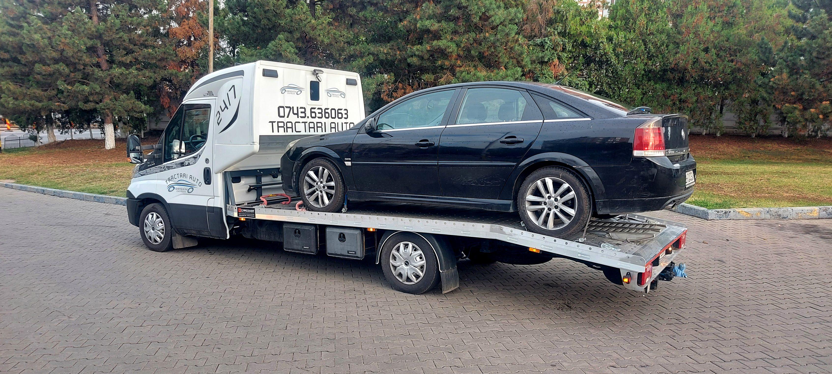 Tractare Opel Vectra Oradea