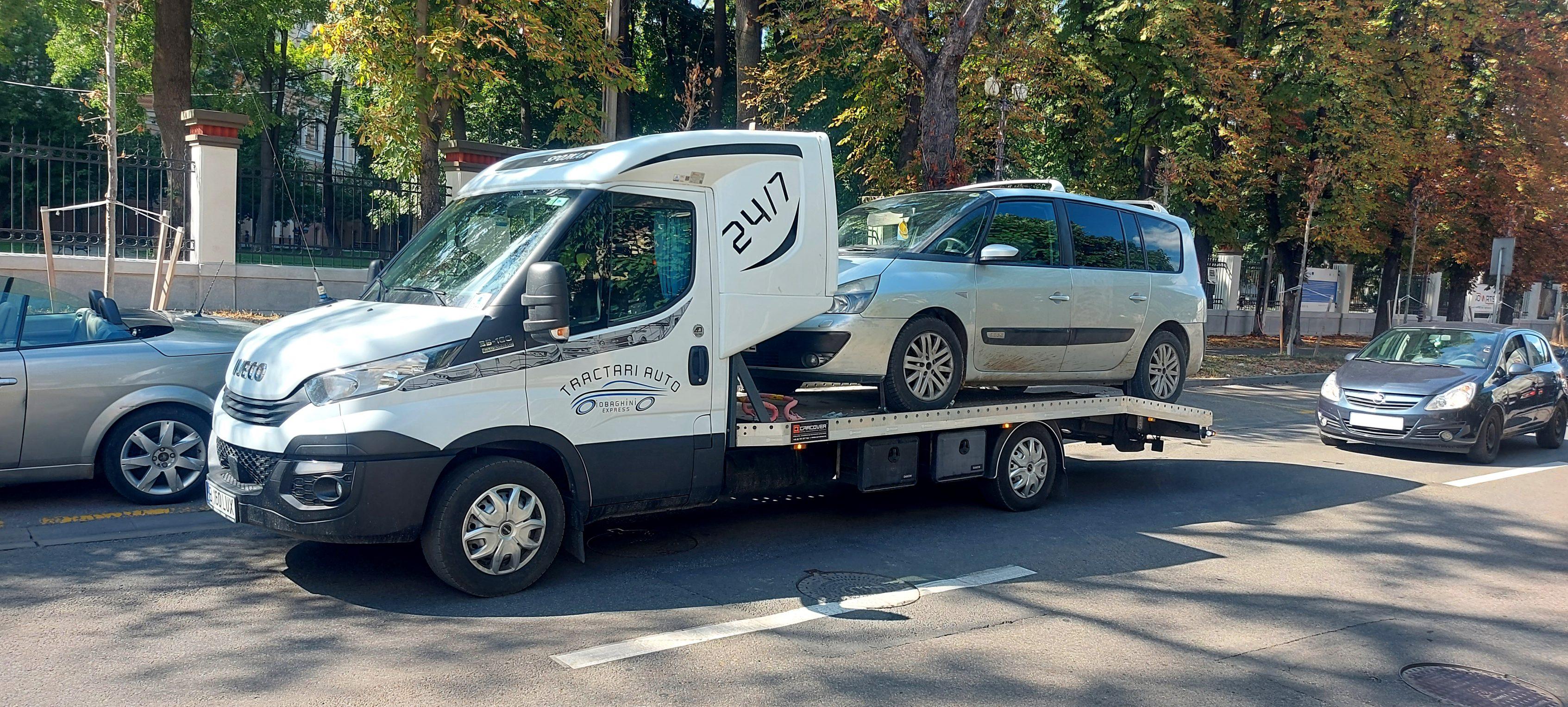Tractare Oradea Renault Espace