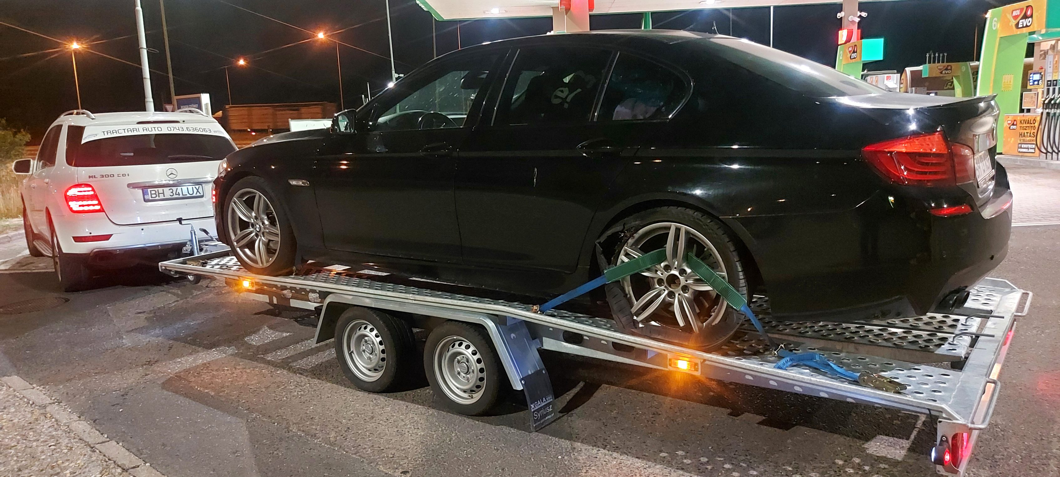 Tractare BMW Seria 5